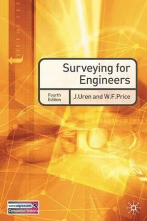 Cover of Surveying for Engineers