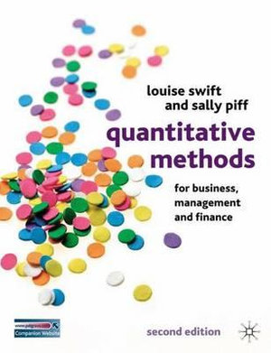 Cover of Quantitative Methods for Business, Management and Finance