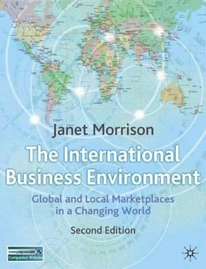 Cover of International Business Environment