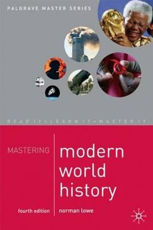 Cover of Mastering Modern World History, 4th Ed.