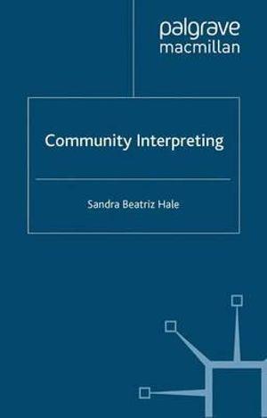 Cover of Community interpreting