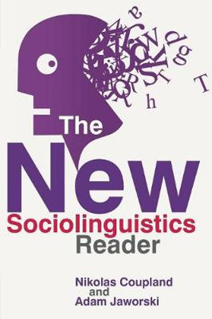 Cover of The New Sociolinguistics Reader