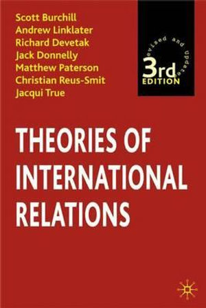 Cover of Theories of International Relations