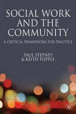 Cover of Social Work and the Community