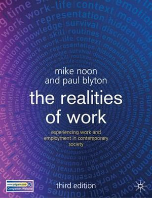 Cover of The Realities of Work