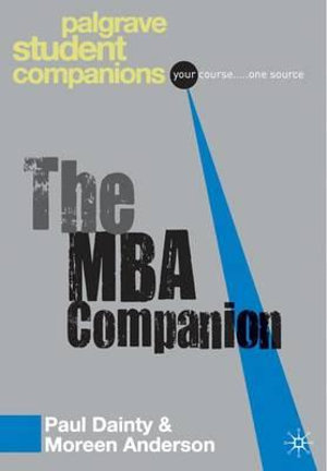 Cover of MBA Companion