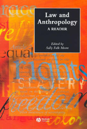 Cover of Law and Anthropology