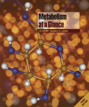 Cover of Metabolism at a Glance 3E