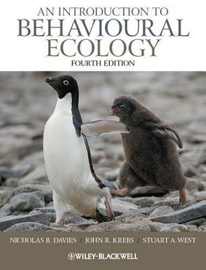 Cover of An Introduction to Behavioural Ecology 4E