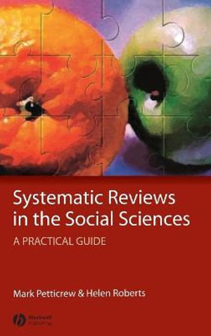 Cover of Systematic Reviews in the Social Sciences