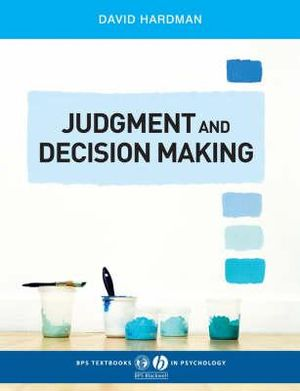Cover of Judgment and Decision Making - Psychological      Perspectives