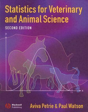 Cover of Statistics for Veterinary and Animal Science