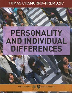 Cover of Personality and Individual Differences