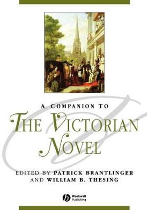 Cover of A Companion to the Victorian Novel
