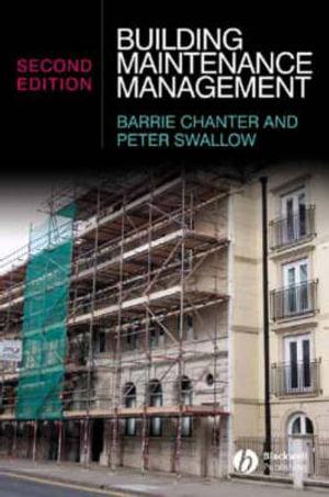 Cover of Building Maintenance Management