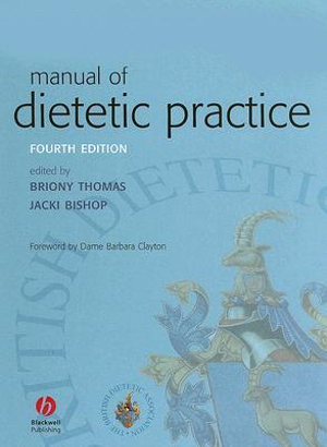 Cover of Manual of Dietetic Practice