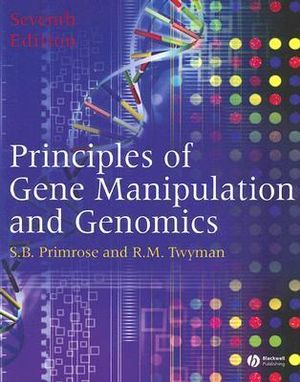 Cover of Principles of Gene Manipulation and Genomics