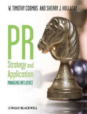 Cover of Pr Strategy and Application - Managing Influence