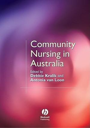 Cover of Community Nursing in Australia