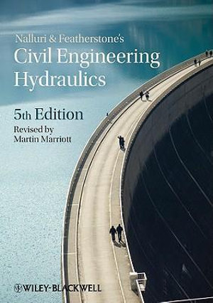 Cover of Nalluri and Featherstone's Civil Engineering      Hydraulics 5E