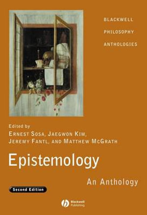 Cover of Epistemology