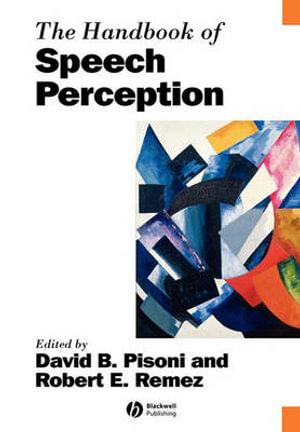 Cover of The Handbook of Speech Perception