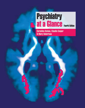 Cover of Psychiatry at a Glance