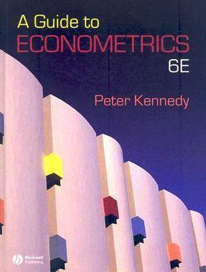Cover of A Guide to Econometrics