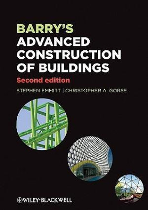 Cover of Barry's Advanced Construction of Buildings