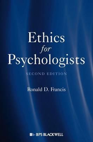 Cover of Ethics for Psychologists