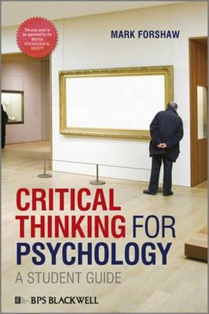 Cover of Critical Thinking For Psychology