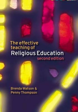 Cover of The Effective Teaching of Religious Education