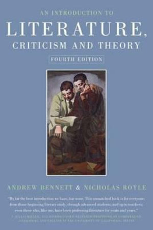 Cover of An Introduction to Literature, Criticism and Theory