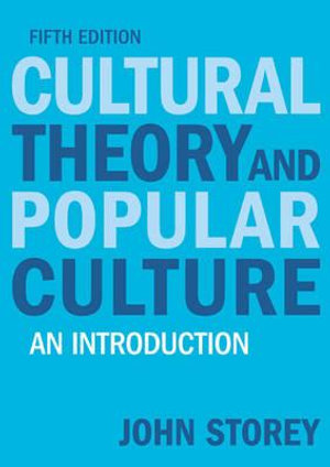 Cover of Cultural Theory and Popular Culture