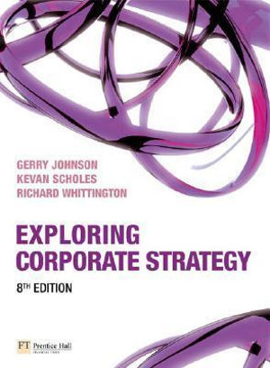 Cover of Exploring Corporate Strategy