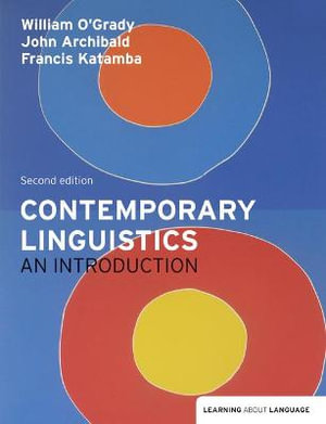Cover of Contemporary Linguistics: An Intro   CP