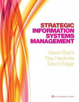 Cover of Strategic Information Systems Management