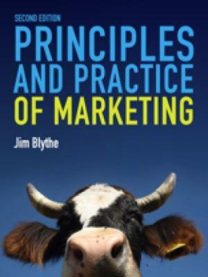 Cover of Principles and Practice of Marketing