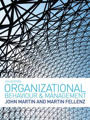 Cover of Organizational Behaviour and Management