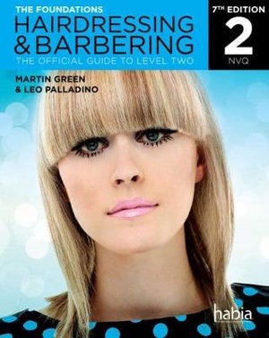 Cover of Hairdressing & Barbering: The Foundations (NVQ)