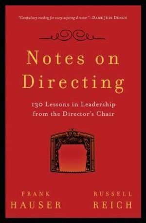 Cover of Notes on Directing