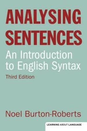 Cover of Analysing Sentences