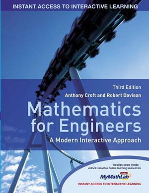 Cover of Mathematics for Engineers MyMathLab Glob