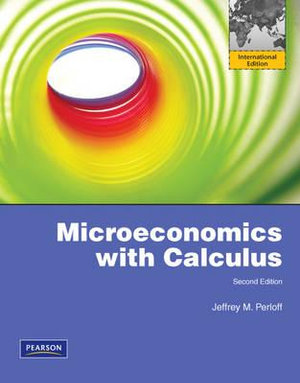Cover of Microeconomics: Theory and Apps with Calculus Pearson International     Edition Global Edition