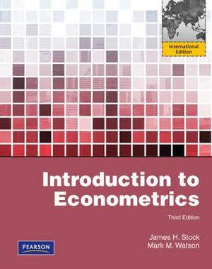 Cover of Intro to Econometrics Pie Global Ed