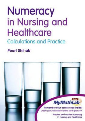 Cover of Numeracy Nurs Health w/MML  CP