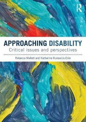 Cover of Approaching Disability