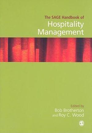 Cover of The SAGE Handbook of Hospitality Management