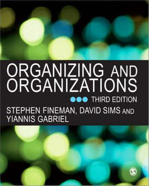 Cover of Organizing and Organizations
