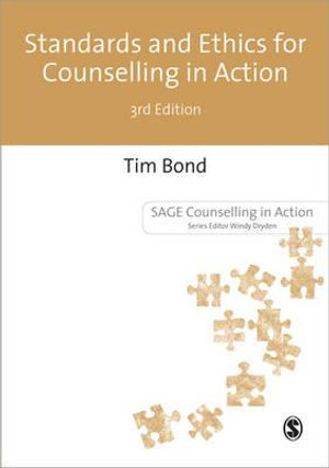 Cover of Standards and Ethics for Counselling in Action